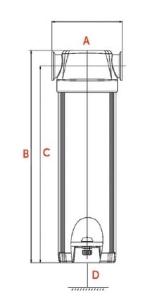 تله آبگیر کمپرسور